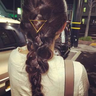 ロング フェミニン ヘアアレンジ ゆるふわ ヘアスタイルや髪型の写真・画像 ヘアスタイルや髪型の写真・画像