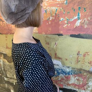 ショートボブ ボブ 外国人風 アンニュイほつれヘア ヘアスタイルや髪型の写真・画像