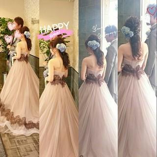 ヘアアレンジ ロング 結婚式 ゆるふわ ヘアスタイルや髪型の写真・画像