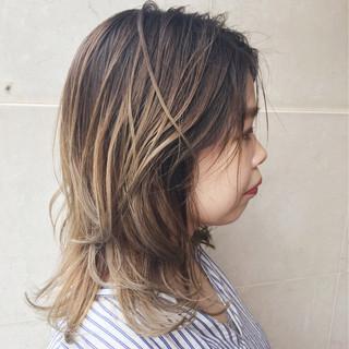 抜け感 大人かわいい 外国人風カラー 外国人風 ヘアスタイルや髪型の写真・画像