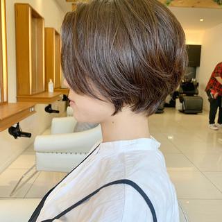 ショート ショートヘア ショートボブ ハンサムショート ヘアスタイルや髪型の写真・画像