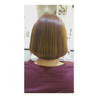 ボブ ワンレングス オフィス ナチュラル ヘアスタイルや髪型の写真・画像 ヘアスタイルや髪型の写真・画像