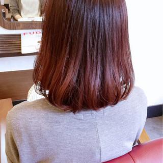 ストリート ピンク ボブ グラデーションカラー ヘアスタイルや髪型の写真・画像