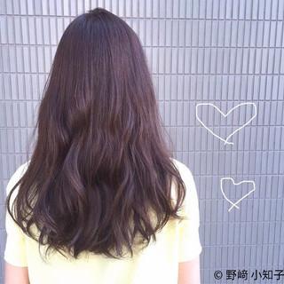ラベンダーアッシュ 暗髪 デート ピンクブラウン ヘアスタイルや髪型の写真・画像