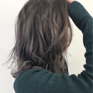 ハーフアップ レイヤーカット 外国人風 ガーリー ヘアスタイルや髪型の写真・画像