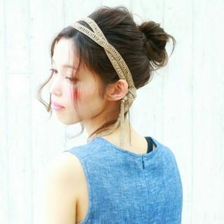 ショート フェミニン 大人かわいい 夏 ヘアスタイルや髪型の写真・画像 ヘアスタイルや髪型の写真・画像