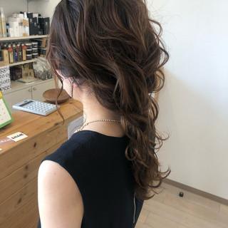 結婚式 編みおろし ロング エレガント ヘアスタイルや髪型の写真・画像 ヘアスタイルや髪型の写真・画像
