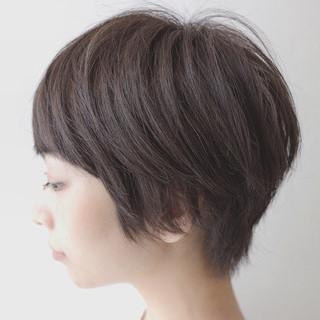 オフィス リラックス 秋 ハイライト ヘアスタイルや髪型の写真・画像