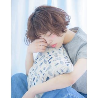 外国人風 パーマ 寝癖 かわいい ヘアスタイルや髪型の写真・画像