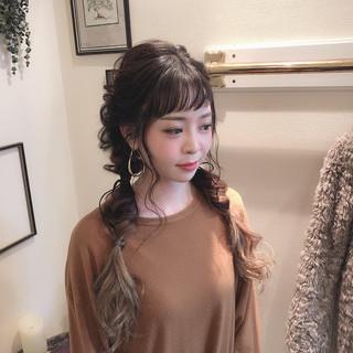 大人かわいい 外国人風 ガーリー ヘアアレンジ ヘアスタイルや髪型の写真・画像 ヘアスタイルや髪型の写真・画像
