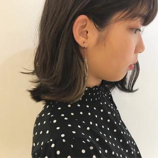 アンニュイほつれヘア ボブ ブリーチカラー 透明感カラー ヘアスタイルや髪型の写真・画像