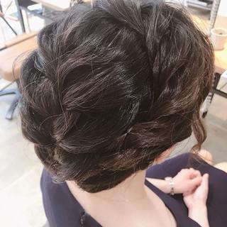 上品 簡単 エレガント ボブ ヘアスタイルや髪型の写真・画像 ヘアスタイルや髪型の写真・画像