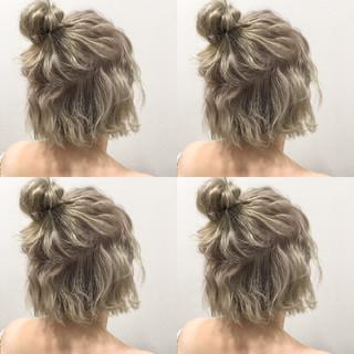 簡単ヘアアレンジ 外国人風 ストリート ヘアアレンジ ヘアスタイルや髪型の写真・画像