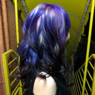 ゆるふわセット ブリーチ必須 マニパニ 特殊カラー ヘアスタイルや髪型の写真・画像 ヘアスタイルや髪型の写真・画像