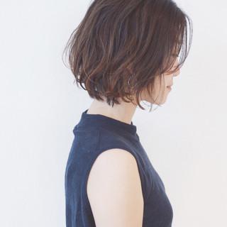 ナチュラル 簡単 ショートボブ ショート ヘアスタイルや髪型の写真・画像 ヘアスタイルや髪型の写真・画像