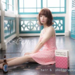 パンク ボブ ウェーブ 春 ヘアスタイルや髪型の写真・画像