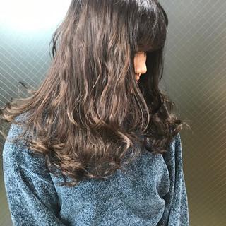 外国人風カラー うる艶カラー ロング お笑い美容師 ヘアスタイルや髪型の写真・画像