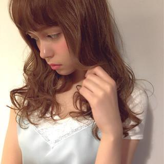 フェミニン ピュア ゆるふわ 大人かわいい ヘアスタイルや髪型の写真・画像