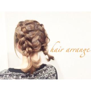 ショート モテ髪 ヘアアレンジ 簡単ヘアアレンジ ヘアスタイルや髪型の写真・画像