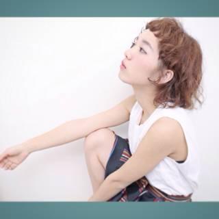 ガーリー フェミニン モテ髪 ストリート ヘアスタイルや髪型の写真・画像
