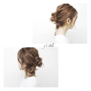 ヘアアレンジ 春 ショート 簡単ヘアアレンジ ヘアスタイルや髪型の写真・画像 ヘアスタイルや髪型の写真・画像