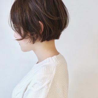 ハイライト ベリーショート ショートヘア ショートボブ ヘアスタイルや髪型の写真・画像
