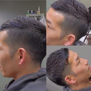 ナチュラル 黒髪 ショート 刈り上げ ヘアスタイルや髪型の写真・画像