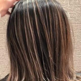 外国人風 ストリート 成人式 外国人風カラー ヘアスタイルや髪型の写真・画像