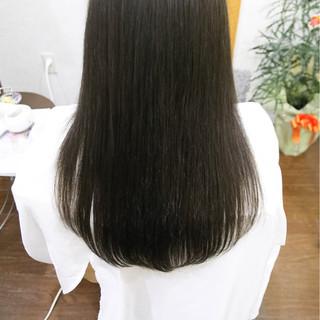 ハイライト ナチュラル 黒髪 大人女子 ヘアスタイルや髪型の写真・画像