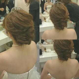 ヘアアレンジ ゆるふわ 大人かわいい ロング ヘアスタイルや髪型の写真・画像