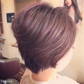 こなれ感 ショート 大人女子 小顔 ヘアスタイルや髪型の写真・画像 ヘアスタイルや髪型の写真・画像