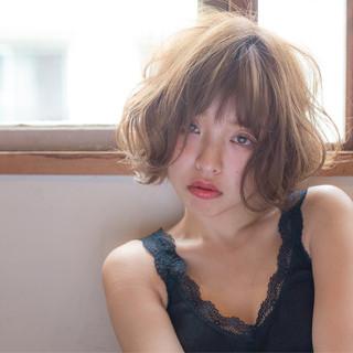 リラックス こなれ感 大人女子 ショートボブ ヘアスタイルや髪型の写真・画像