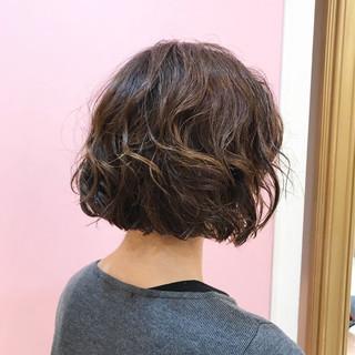 モード 大人女子 ボブ デート ヘアスタイルや髪型の写真・画像