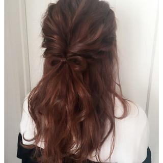 簡単ヘアアレンジ 結婚式 ヘアアレンジ ロング ヘアスタイルや髪型の写真・画像