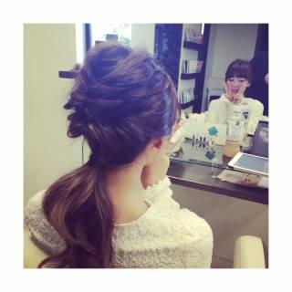 ヘアアレンジ 三つ編み ストリート 秋 ヘアスタイルや髪型の写真・画像 ヘアスタイルや髪型の写真・画像