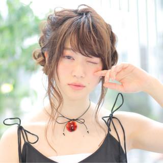 ヘアアレンジ ショート 透明感 ピュア ヘアスタイルや髪型の写真・画像