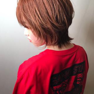 外国人風 イルミナカラー ウルフカット ハイライト ヘアスタイルや髪型の写真・画像