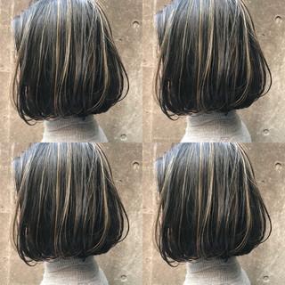 ストリート 黒髪 透明感 アッシュ ヘアスタイルや髪型の写真・画像