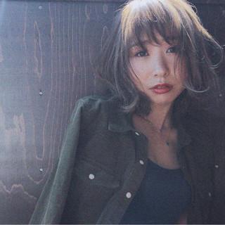 石田 絢海さんのヘアスナップ