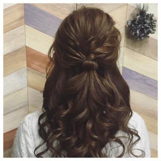 パーティ ブライダル 結婚式 ヘアアレンジ ヘアスタイルや髪型の写真・画像