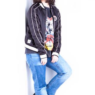 色気 ボブ ストリート ミディアム ヘアスタイルや髪型の写真・画像