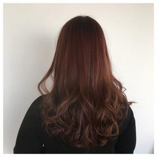 ラベンダーピンク ロング ラベンダー ピンク ヘアスタイルや髪型の写真・画像