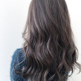 ゆるふわ グラデーションカラー 外国人風 ハイライト ヘアスタイルや髪型の写真・画像