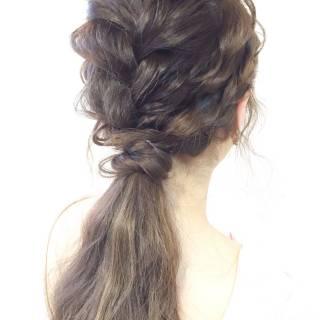 フェミニン 大人かわいい コンサバ モテ髪 ヘアスタイルや髪型の写真・画像