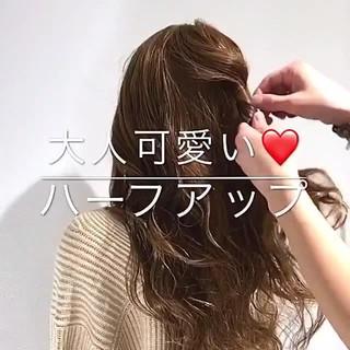フェミニン ロング 大人女子 オフィス ヘアスタイルや髪型の写真・画像