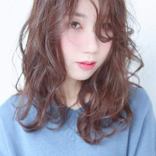 ふんわり 可愛い アンニュイほつれヘア 透け感ヘア ヘアスタイルや髪型の写真・画像