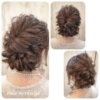 ヘアアレンジ フェミニン コンサバ 簡単ヘアアレンジ ヘアスタイルや髪型の写真・画像 ヘアスタイルや髪型の写真・画像