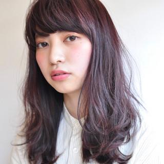 ピンク ベリーピンク パープル ボーイッシュ ヘアスタイルや髪型の写真・画像