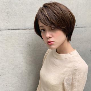 かわいい 色気 前髪あり ナチュラル ヘアスタイルや髪型の写真・画像