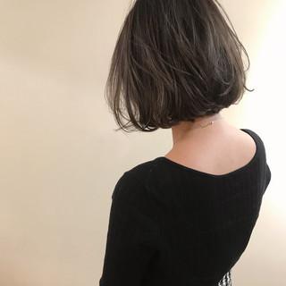 エフォートレス ハイライト 透明感 ボブ ヘアスタイルや髪型の写真・画像